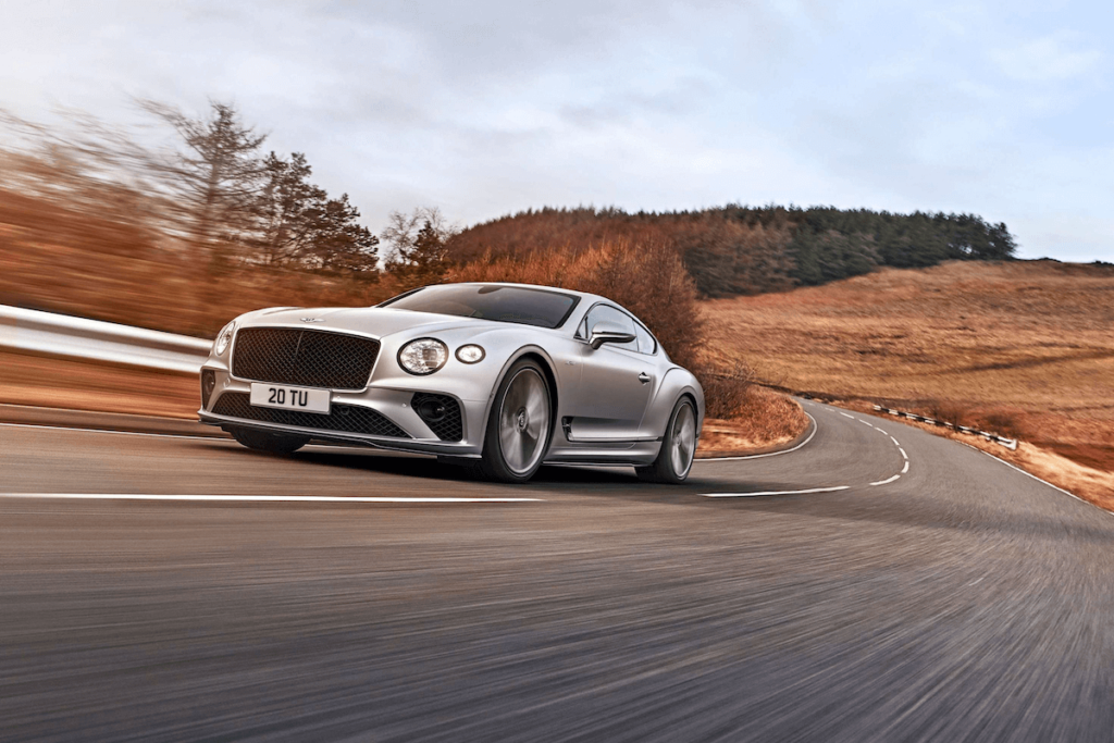 Bentley new Continental GT Speed on The Road pic1
