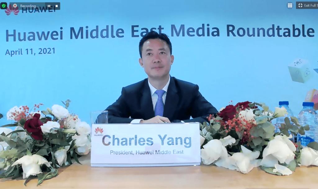 Charles yang, President of Huawei ME 6
