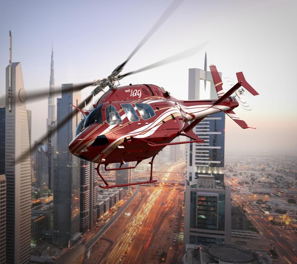 Image 2_ Bell 429 Dubai Skyline