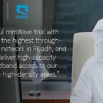 نوكيا وموبايلي تحققان أعلى معدّل نقل بفضل الموجة المليمترية على شبكة الجيل الخامس (5G) في الرياض