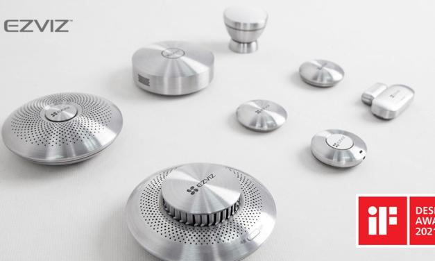 مجموعة منتجات استشعار المنزل الذكي من EZVIZ تحصد جائزة iF Design المرموقة بفضل تحديثها لنمط الحياة الذكية والمتصلة عبر تحسين تصميم المنتج