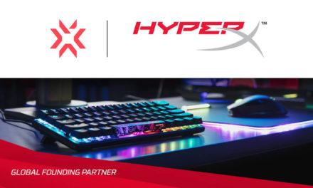 HyperX تصبح الشريك المؤسس العالمي لـ Valorant Champions Tour التابعة لشركة Riot Games