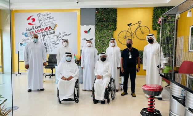 """""""ورشة حكومة دبي"""" تناقش أحدث الابتكارات في صيانة المركبات مع """"نادي دبي لأصحاب الهمم"""""""