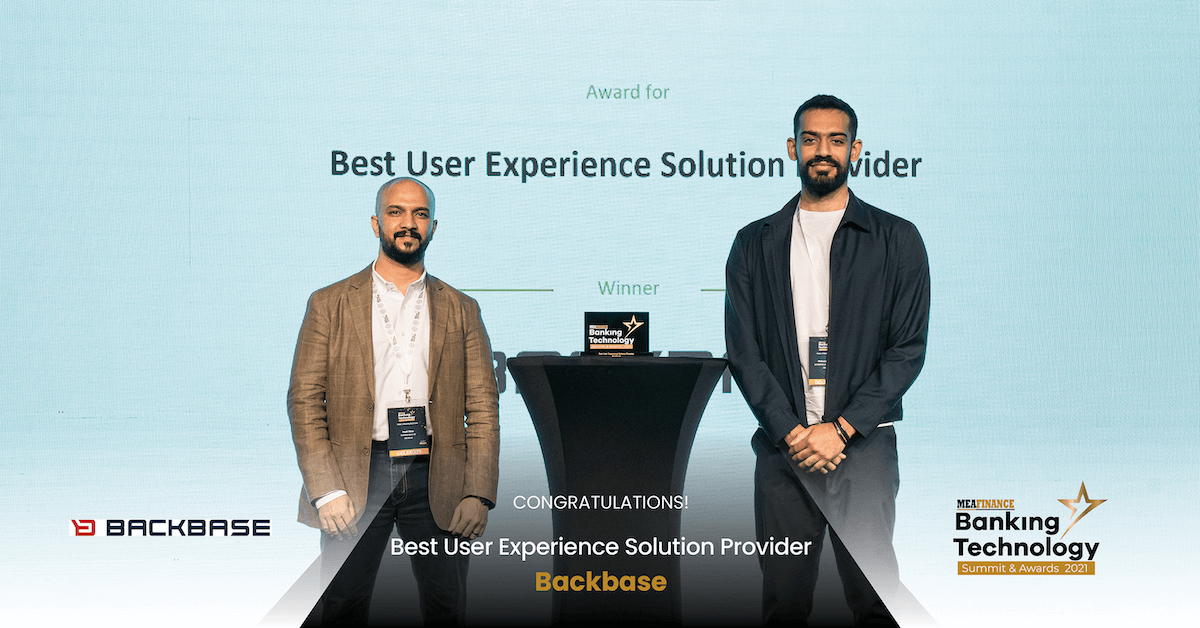 باك بيس الشرق الأوسط تحصل على جائزة أفضل مزود حلول لتجربة المستخدم المصرفية