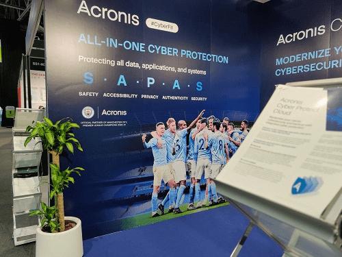 الحماية الإلكترونية من Acronis تضمن أمن بيانات أبطال أوروبا الحاليين لكرة القدم