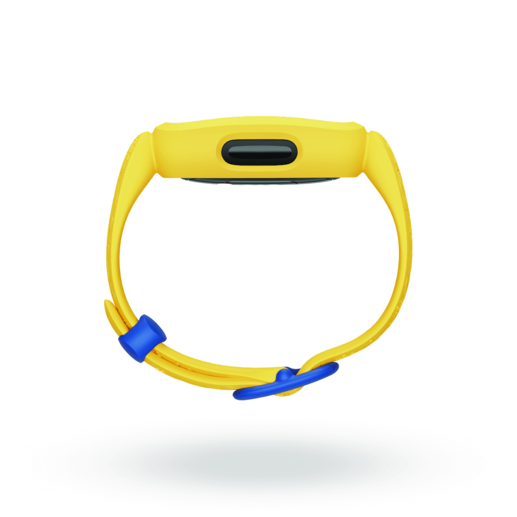 Fitbit_Ace_3_Render_Profile_SE_Minions_Yellow_Blank_Shadow-1