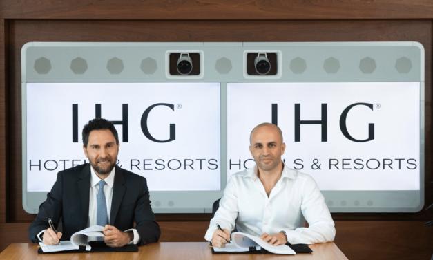 مجموعة فنادق ومنتجعات إنتركونتيننتال توقع اتفاقية لافتتاح اول فندق للمجموعة على شاطئ نخلة جميرا في دبي