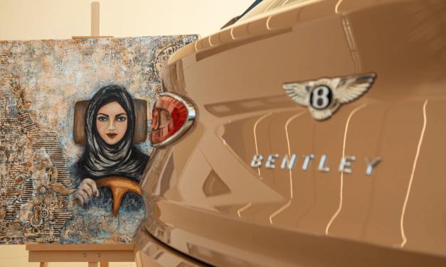 بنتلي السعودية تحتفل بالعام الثالث لقيادة المرأة في المملكة العربية السعودية