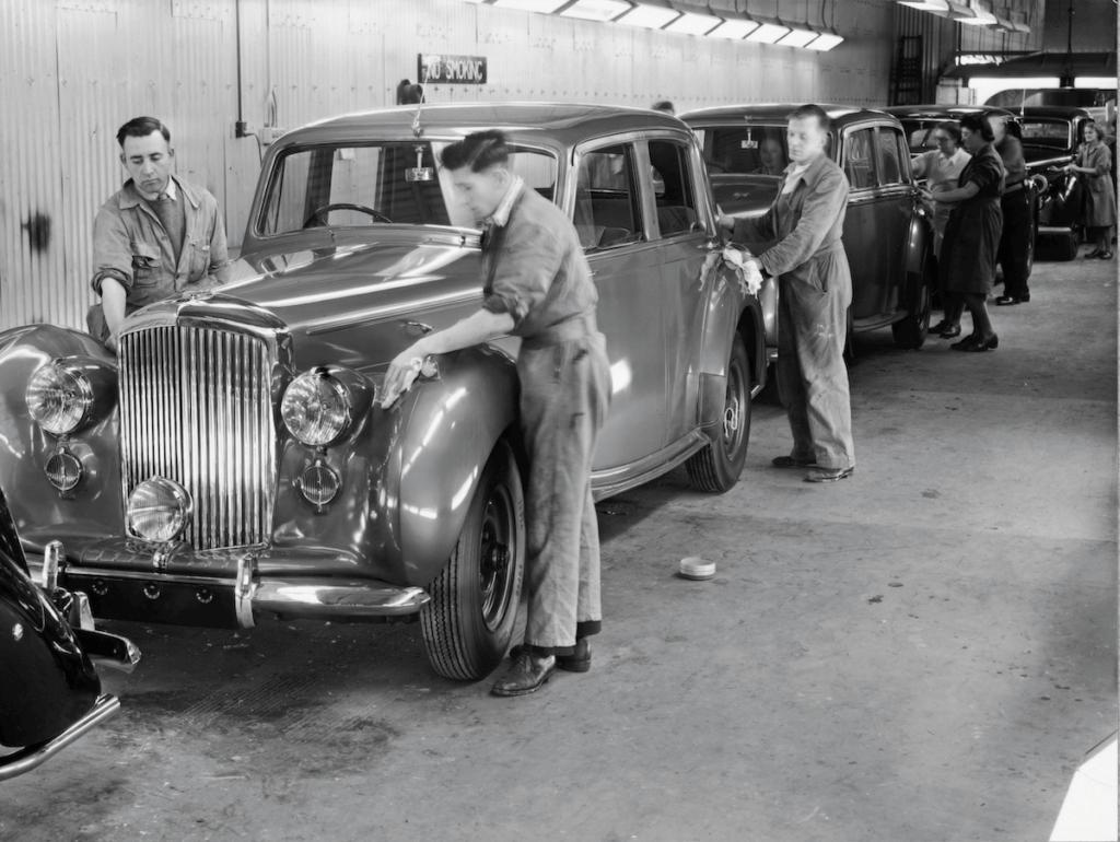موقع إنتاج B entley MK VI -- 1946 - ------ 3