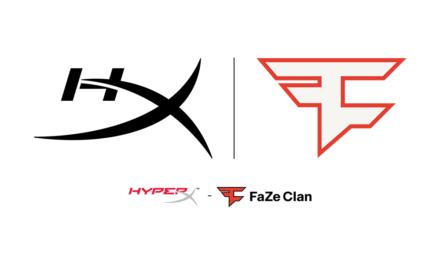 عُيّنت HyperX كشريك رسمي لميكروفون الألعاب لـ FaZe Clan