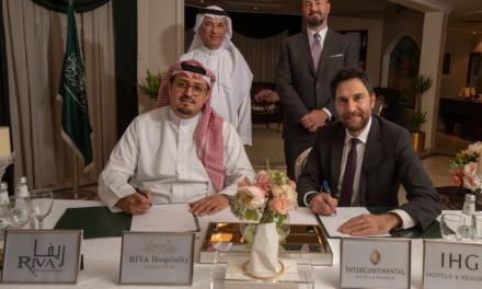 مجموعة فنادق إنتركونتيننتال توقع اتفاقية تطوير إنتركونتيننتال الرياض شارع الملك فهد – ثاني فندق يتم تطويره ضمن عقد تطوير وتسويق مع شركة ريفا للتعمير