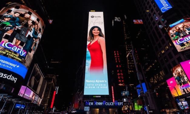 Spotify  يحتفل بألبوم  Nancy 10 الأحدث للفنانة نانسي عجرم في مدينة نيويورك