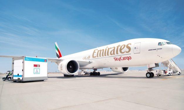 الإمارات للشحن الجوي نقلت 150 مليون جرعة لقاح كوفيد-19